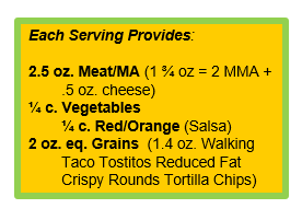 Breakfast Nachos with Walking Taco TOSTITOS® Reduced Fat Crispy Round Tortilla Chips.png