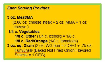 Philly Cheesesteak Sloppy Joe with FUNYUNS® Baked Not Fried Onion Flavored Snacks.png