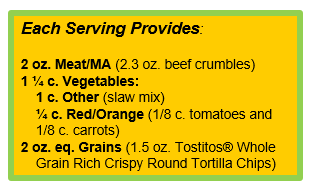 Sriracha Bowl with TOSTITOS® Whole Grain Rich Crispy Rounds Tortilla Chips.png