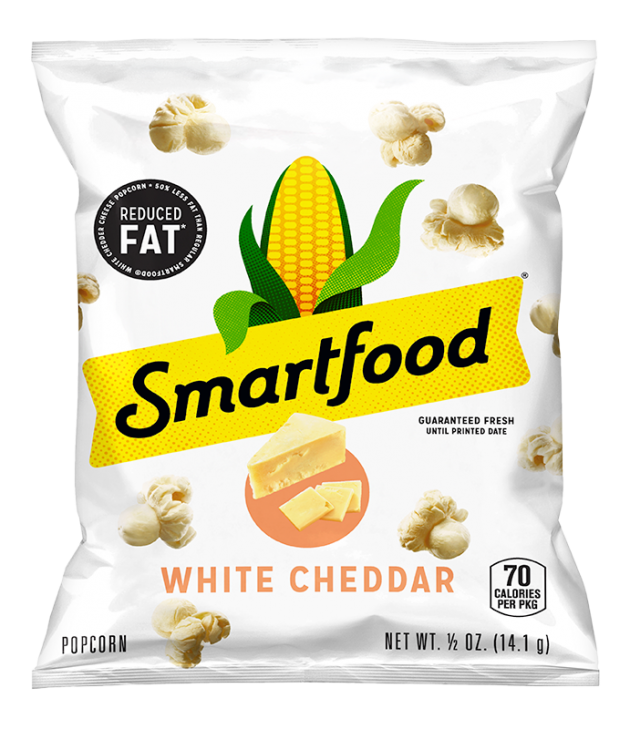 Popcorn, Vegetable Oil (Sunflower, Corn, and/or Canola Oil), Maltodextrin (Made from Corn), Reduced Lactose Whey, Cheddar Cheese (Milk, Cheese Cultures, Salt, Enzymes), Salt, Whey Protein Concentrate, Whey, Natural Flavors, Buttermilk, Potassium Chloride, Lactic Acid, and Citric Acid. CONTAINS MILK INGREDIENTS.