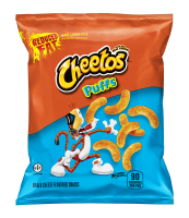 CHEETOS® REDUCED FAT BAKED CHEESE FLAVORED SNACKS – PUFFS - .7OZ.