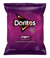 DORITOS® REDUCED FAT SPICY SWEET CHILI FLAVORED TORTILLA CHIPS - 1OZ.